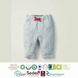 Organic Cotton  Yarn Dyed 3/4 Shorts