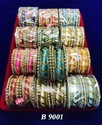 Round Indian Thread Bangles, For Party Wear