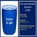 Dearomatized Solvent D80