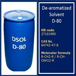 Dearomatized Solvent D80