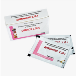 Dimizox 2.36(Diminazene Diaceturate 1.05 gm and Antipyrine)