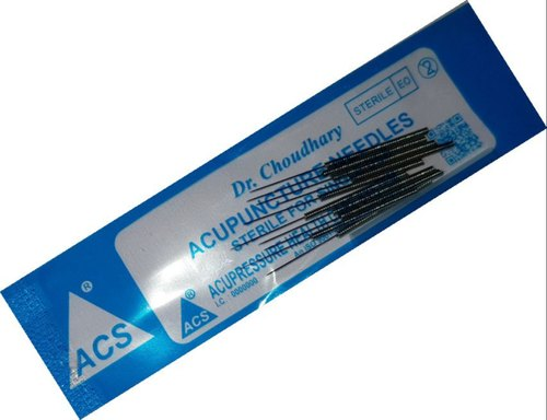 ACS Acupuncture Needle Economy 100 -3''/.25x75mm at Rs 250 ...