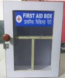 Sparsh First Aid Box Wooden Make.