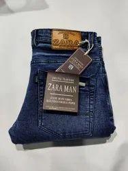 Men Regular Fit Denim Jeans, Age Group: 18-40