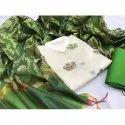 Designer Chanderi Silk Dress Material