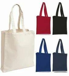 Colour Loop Handle Canvas Bag