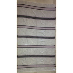 Cotton/Polyester Acrylic Stripe Shawls