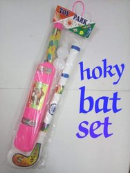 Plastic Hockey & Bat