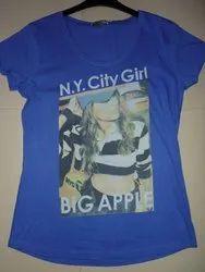 custom Hosiery Fashion Wear T Shirt, Size: Medium