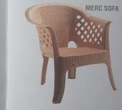 Modern Brown National Merc Sofa Chair, For Home