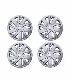 Silver Plastic Maruti Suzuki Swift 14 inch wheel cover