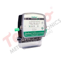 Three Phase Domestic Energy Meter With Counter Display