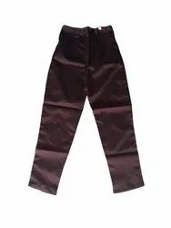 Cotton brown WOMEN PANTS