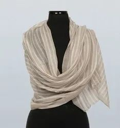 Cashmere Striped Stole