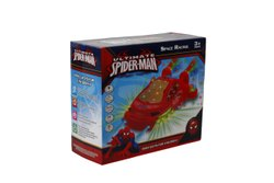 Red Ultimate Spiderman Space Racing Car