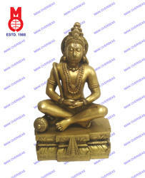 Hanuman Sitting W/Ring Statue