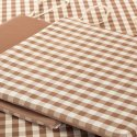 Ramesh Exports 100% Cotton Yarn Dyed Plain Table Cover Cloth, Size: 100x150 Cm