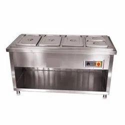 4 Bowl Bain Marie Electric 8-9 Kg