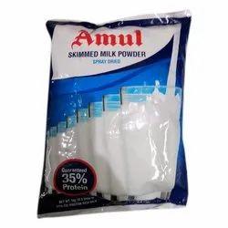 Spray Dried Amul Skimmed Milk Powder, Packaging Type: Packet