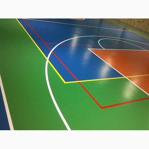 Indoor Sports Flooring Indoor Cricket Flooring Manufacturer From Pune