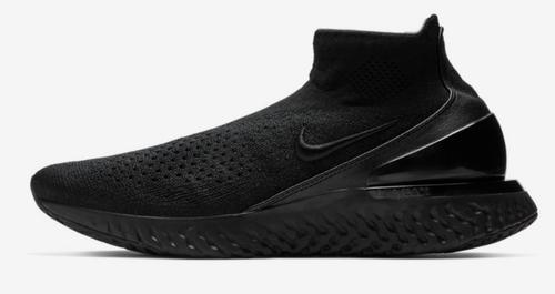 7740ba04813d3 Black white black Av5554-003 Nike Rise React Flyknit Shoes