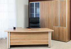 Executive Table With File Storage