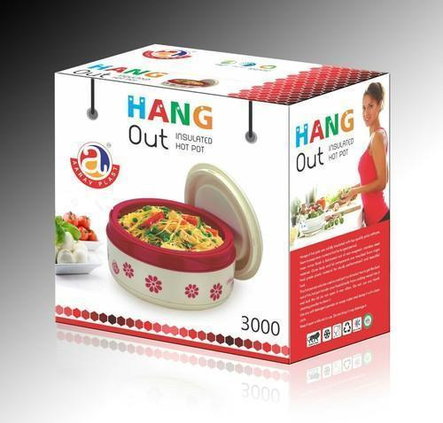 Plastic & Stainless Steel Insulated Hot Pot