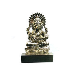 Ganesha Silver Show Piece