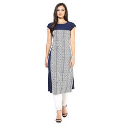 Half Sleeve Ladies Kurti