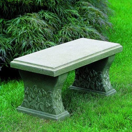 Garden Stone Bench Garden Stone Bench Mar Basil