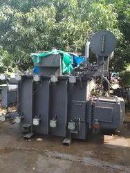 Three Phase Oil Cooled Induction Furnace Duty Transformers, Capacity: 1250 Kva - 12000 Kva
