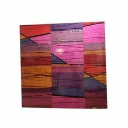Glossy Square Decorative Vitrified Wall Tile, Thickness: 6 - 8 mm, Size: 60 * 60 Cm