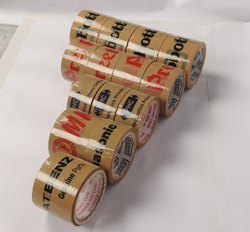 Logo Printed Packing Tapes, Packaging Type: Roll