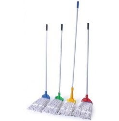 Cotton, Deluxe Special Wet Kentucky Mop, For Floor Cleaning
