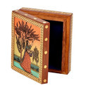 Gemstone Wooden Storage Box