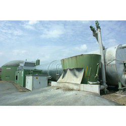 Container Based Biogas Plant