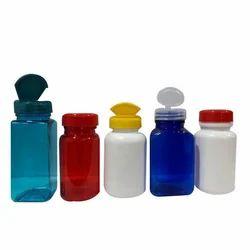 Colored PET Tablet Jars