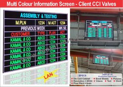 Kamal & CO Aluminum P4 Indoor full colour display board, For Advertising, 4mm