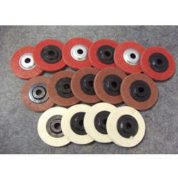 Red Nylon Buffing Wheels