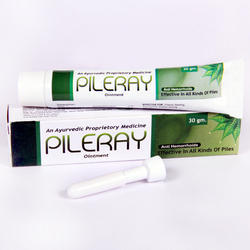 Ayurvedic Pileray Ointment, Packaging Size: 30 gm