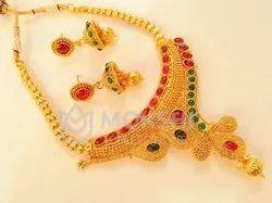 Engagement Kemp Designer Necklace Set