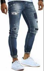 Denim Faded mens jeans, Waist Size: 28-34