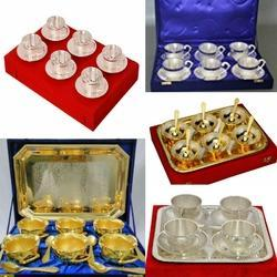 Silver Plated Bowl Set 16 pcs
