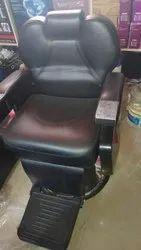 Black Salon Leather Chair