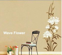 Big Stencils  Wave Flower