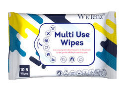 OEM Available Multi Use Wipes, Pack Size: Client Specific