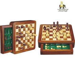 Drawer Chess Board Set