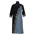 Ladies 3/4th Sleeve Straight Kurti