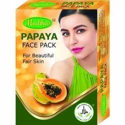 Madiha's Papaya Face Pack, Powder, Packaging Size: 100 Gram