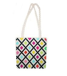 Multi Colour Beaded Bag